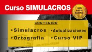 CURSO SIMULACROS