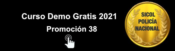 Curso Sicol Policía Nacional 2021